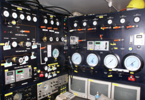 Dive Control in 6m Container with Sat Control