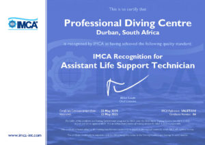 IMCA Assistant Life Support Technician