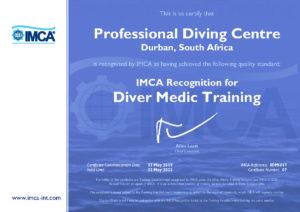 IMCA Diver Medic Training